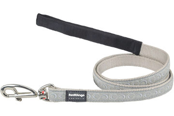 Red Dingo Fixed Length Lead Cosmos Silver L4-CO-SI