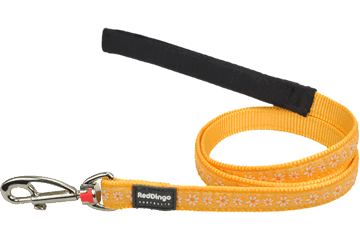 Red Dingo Fixed Length Lead Daisy Chain Yellow L4-DC-YE