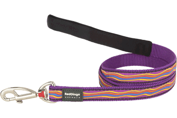 Red Dingo Fixed Length Lead Dreamstream Purple L4-DS-PU