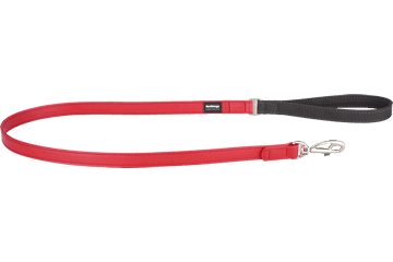 Red Dingo Fixed Length Lead Elegant rood L4-EL-RE