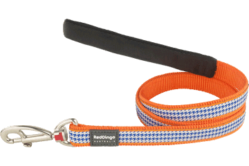 Red Dingo Fixed Length Lead Fang It Orange L4-FG-OR