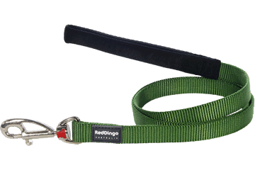 Red Dingo Fixed Length Lead Classic Green L4-ZZ-GR