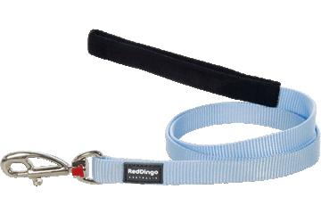 Red Dingo Fixed Length Lead Classic Light Blue L4-ZZ-LB