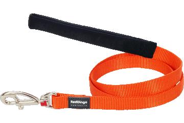 Red Dingo Leine mit fixer Länge Klassisch Orange L4-ZZ-OR