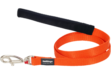 Red Dingo Fixed Length Lead Classic Orange L4-ZZ-OR