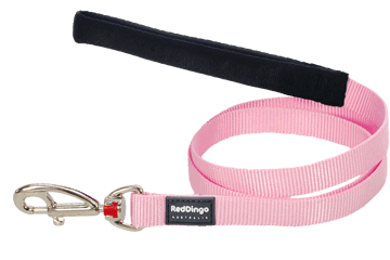 Red Dingo Fixed Length Lead Classic Pink L4-ZZ-PK