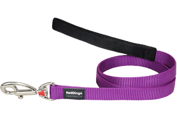 Red Dingo Fixed Length Lead Classic Purple L4-ZZ-PU