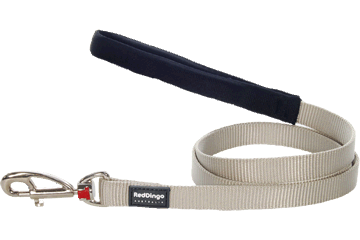 Red Dingo Fixed Length Lead Classic Silver L4-ZZ-SI