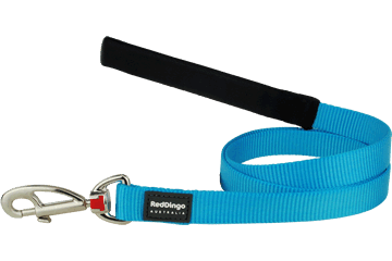 Red Dingo Fixed Length Lead Classic Turquoise L4-ZZ-TQ