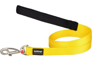 Red Dingo Fixed Length Lead Classic Yellow L4-ZZ-YE