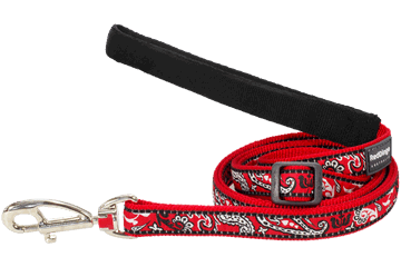 Red Dingo Adjustable Lead Bandana Red L6-BA-RE