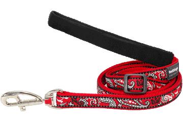 Red Dingo Adjustable Lead Bandana Red L6-BA-RE