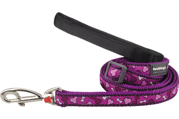 Red Dingo Adjustable Lead Bonarama Purple L6-BR-PU
