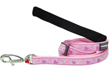 Red Dingo Adjustable Lead Breezy Love Pink L6-BZ-PK