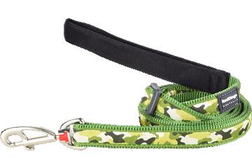 Red Dingo Adjustable Lead Camouflage Green L6-CF-GR
