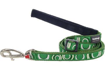 Red Dingo Adjustable Lead Circadelic Green L6-CI-GR