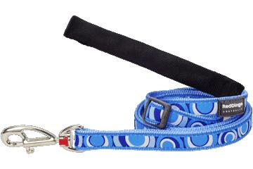Red Dingo Adjustable Lead Circadelic Medium Blue L6-CI-MB