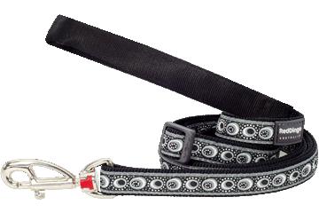 Red Dingo Adjustable Lead Cosmos Black L6-CO-BB