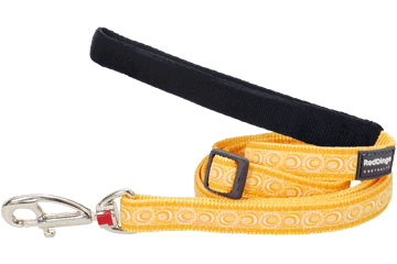 Red Dingo Adjustable Lead Cosmos Yellow L6-CO-YE