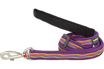 Red Dingo Adjustable Lead Dreamstream Purple L6-DS-PU