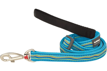 Red Dingo Adjustable Lead Dreamstream Turquoise L6-DS-TQ