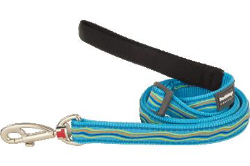 Red Dingo Adjustable Lead Dreamstream Turquoise L6-DS-TQ