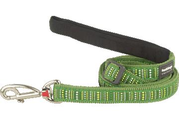 Red Dingo Adjustable Lead Lotzadotz Green L6-LD-GR