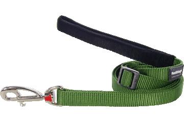 Red Dingo Adjustable Lead Classic Green L6-ZZ-GR