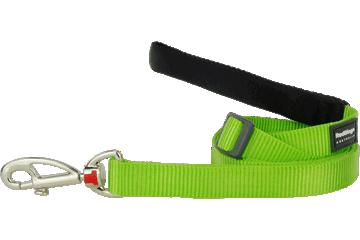Red Dingo Verstellbare Leine Klassisch Lime Grün L6-ZZ-LG