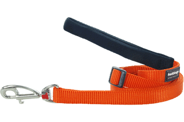 Red Dingo Verstellbare Leine Klassisch Orange L6-ZZ-OR