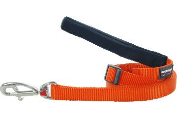 Red Dingo Adjustable Lead Classic Orange L6-ZZ-OR