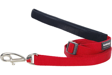 Red Dingo Adjustable Lead Classic Rosso L6-ZZ-RE
