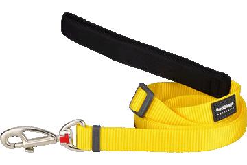Red Dingo Adjustable Lead Classic Yellow L6-ZZ-YE