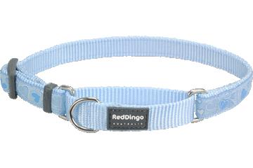 Red Dingo チョーク型犬用首輪 さわやかな愛 ライトブルー MC-BZ-LB