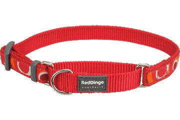 Red Dingo Martingale Collar Circadelic Red MC-CI-RE