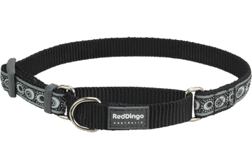 Red Dingo Martingale Collar Cosmos Black MC-CO-BB
