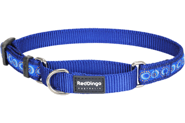 Red Dingo Zug-Stop Halsband Kosmos Dunkelblau MC-CO-DB
