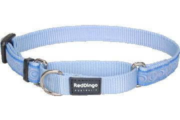 Red Dingo Martingale Collar Cosmos Light Blue MC-CO-LB