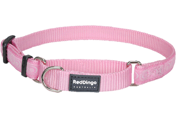 Red Dingo Martingale Halsband Cosmos roze MC-CO-PK