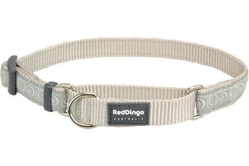 Red Dingo Martingale Halsband Cosmos zilver MC-CO-SI