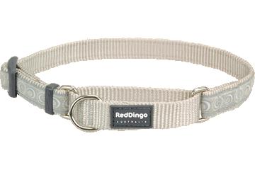Red Dingo Martingale Collar Cosmos Silver MC-CO-SI