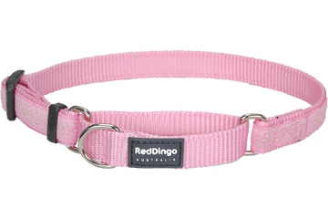Red Dingo Martingale Collar Daisy Chain Pink MC-DC-PK