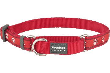 Red Dingo Martingale Collar Desert Paws Red MC-DP-RE