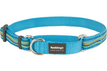 Red Dingo Martingale Collar Dreamstream Turquoise MC-DS-TQ