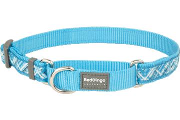 Red Dingo Martingale Collar Flanno Turquoise MC-FN-TQ