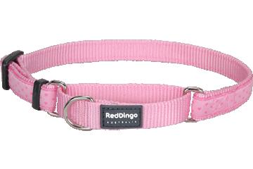 Red Dingo Martingale Collar Love Sprinkles Pink MC-LS-PK