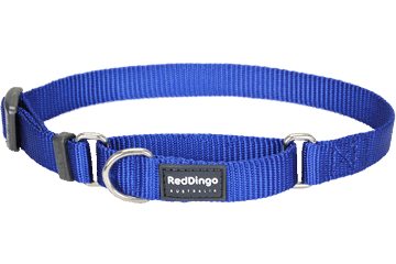 Red Dingo Martingale Halsband Klassiek donkerblauw MC-ZZ-DB