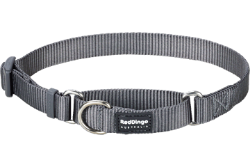 Red Dingo Martingale Halsband Klassiek Cool Grey MC-ZZ-GY
