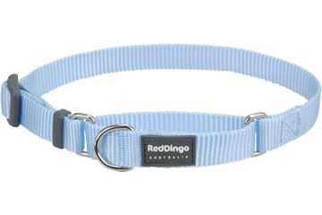 Red Dingo Martingale Collar Classic Light Blue MC-ZZ-LB
