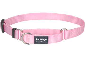 Red Dingo Martingale Halsband Klassiek roze MC-ZZ-PK